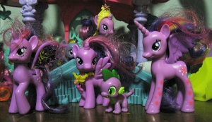 All time favorite(s), Princess(es) Twilight Sparkle.
