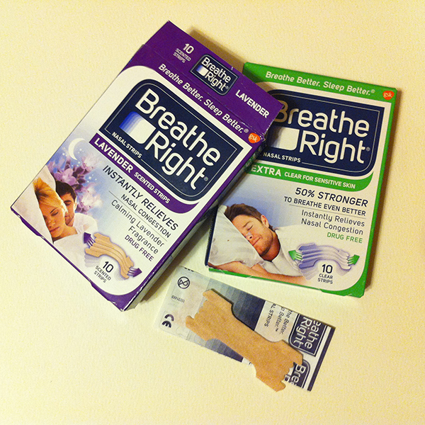 Lavender scented strips for a calming aroma, and clear strips for sensitive skin.