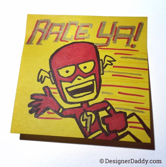 Barry, er, I mean TheFlash is a cutie. –by DesignerDaddy–